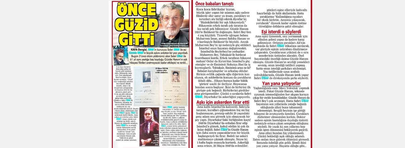 The Story Of The Great Love Between Sabri And Güzid