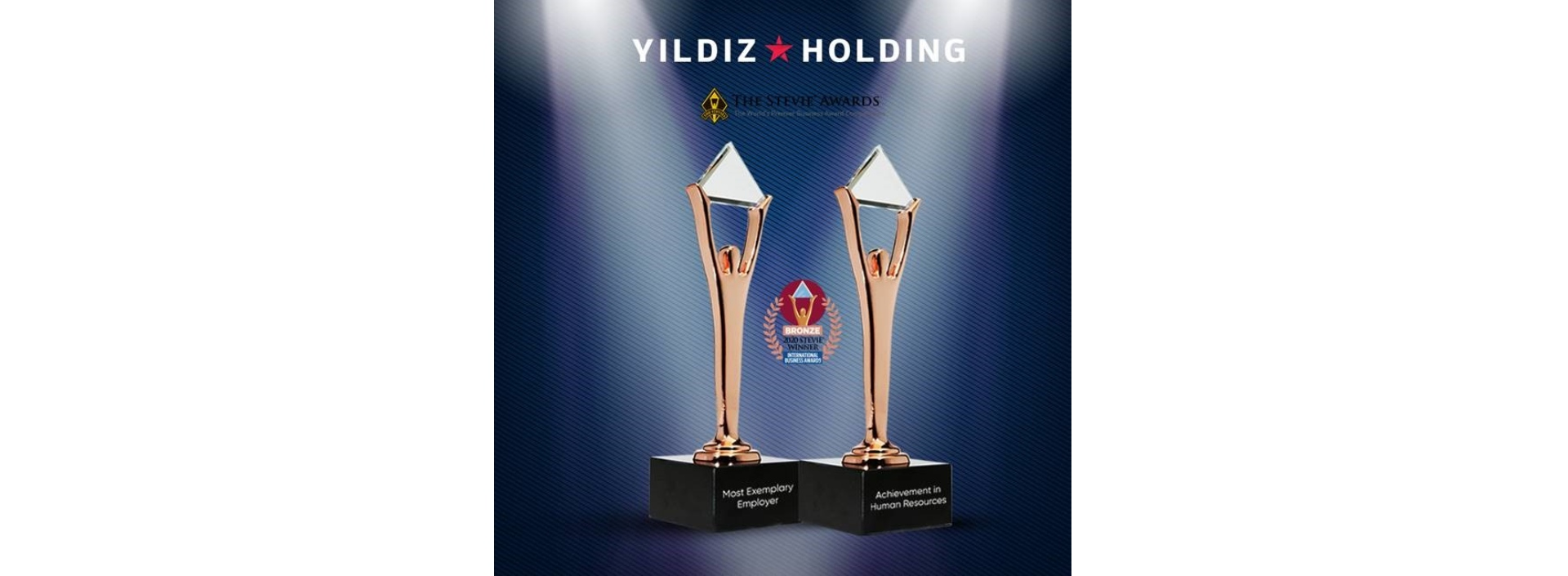 Yıldız Holding wins two Stevie Awards with its innovative practices